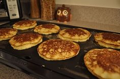 Yummy Coconut Flour Pancakes (sugar free • gluten free • low carb • dairy free)