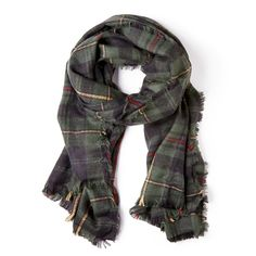 "Sole Society ""Wool plaid scarf"""