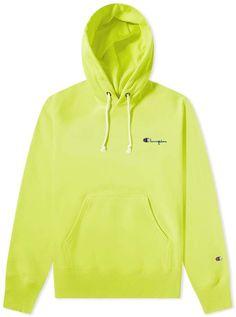 Champion Reverse Weave Small Script Logo Hoody In Green Green Champion Hoodie, Champion Sweatshirt, Cropped Hoodie, Hoodie Jacket, Hoody, Champion Clothing, Trendy Hoodies, Script Logo, Guy