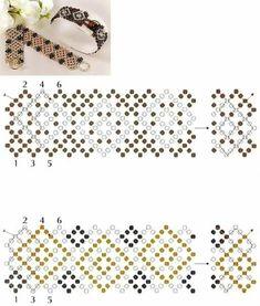 Beading Tools, Beading Tutorials, Beading Patterns, Seed Bead Bracelets Tutorials, Beaded Bracelets, Beaded Necklace Patterns, Beading Techniques, Bijoux Diy, Handmade Beads