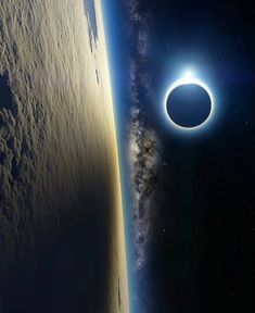 Astronomy nice Solar Eclipse From the International Space Station. - Solar Eclipse From the International Space Station Earth And Space, Cosmos, International Space Station, Iss International, Space And Astronomy, Hubble Space, Deep Space, Hd Space, Space Travel