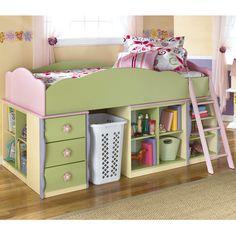 Loft Beds For Girls | ... more home kids furniture kids loft bunk beds doll house youth loft bed