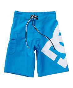 Bright Blue Lanai Board Shorts - Boys by DC #zulily #zulilyfinds