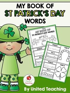 My Book of St. Patrick's Day Words