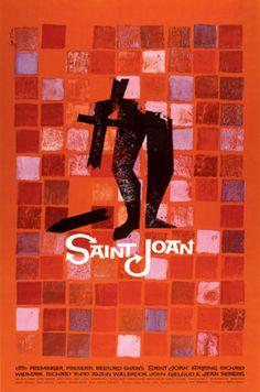 Saint Joan © Saul Bass