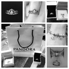 pandora princess ring | My Princess ring and charm from Pandora