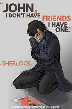 If you love Sherlock BBC as much as we do, you'll love this! Check out our sortable Sherlock rec lists at fanfictionrecomme… Sherlock Bbc, Sherlock Quotes, Watson Sherlock, Jim Moriarty, Best Fanfiction, Fanfiction Ideas, Benedict And Martin, John Martin, John John
