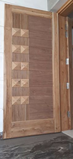 New Door Design, Wooden Front Door Design, Main Entrance Door Design, Door Gate Design, Bedroom Door Design, Door Design Interior, Wooden Front Doors, Simple House Design, Modern Door