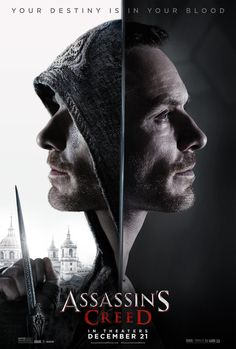 Final trailer, clips, images and posters for ASSASSIN'S CREED starring Michael Fassbender, Marion Cotillard and Jeremy Irons. The Assassin, Assassins Creed, Assasins Creed Movie, Assassin's Creed Film, Assassin's Creed Hd, Michael Fassbender, Brendan Gleeson, 10 Film, Sci Fi Movies
