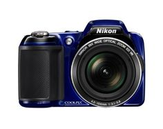 Nikon COOLPIX L810 16.1 MP Digital Camera with 26x Zoom NIKKOR ED Glass Lens and 3-inch LCD (Blue)