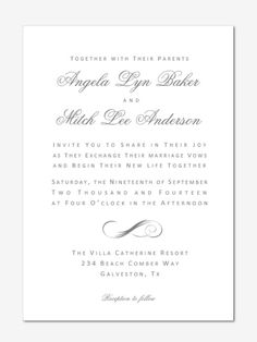 Invite Templates For Word 70 Best Invite Designs Images On Pinterest  Free Printable Wedding .