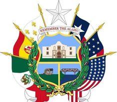 El reverso del escudo de Texas incorpora las seis banderas de las naciones, que ejercieron allí su soberanía. Así es la herencia española de EE.UU: la bandera rojigualda sigue presente en Texas