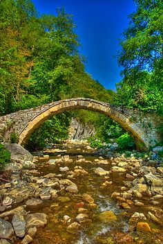 In the Rhodope Mountains, Bulgaria.