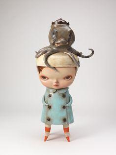 Sculpture by Kathie Olivas.