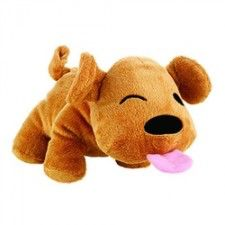 Engi Dog is the Gummi Pet products mascot. His body is so soft and plush made from polyester. He come with a squeaker and rattle in his tummy, and his ears are crinkly so you get sounds for your dog's enjoyment. Engi comes in 2 sizes. What a great cloth dog toy.