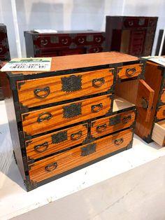 Japanese Furniture, Storage Chest, Miniatures, Inspiration, Home Decor, Biblical Inspiration, Decoration Home, Room Decor, Home Interior Design