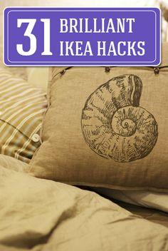 31 brilliant IKEA hacks!