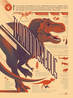 Fantastic collection of infographic art created by artist Tom Whalen