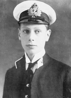 Prince Albert, later The Duke of York and King George VI, aged 18, during his service in the Royal Navy in 1914. His Royal Highness fought in the Battle of Jutland - the largest naval battle of World War One - which took place on 31 May to 1 June 1916.