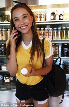 Alexis Ren says she 'overworked herself to malnourishment'   Daily Mail Online