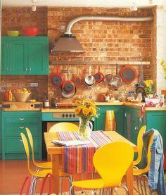 Za promenu – šarena kuhinja | BravaCasa Magazin