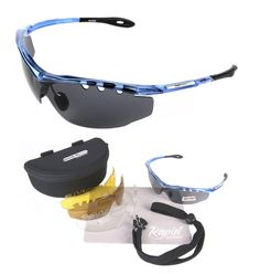 Ace sunglasses for cycling, with interchangeable lenses- available from Rapid Eyewear, http://www.rapideyewear.co.uk
