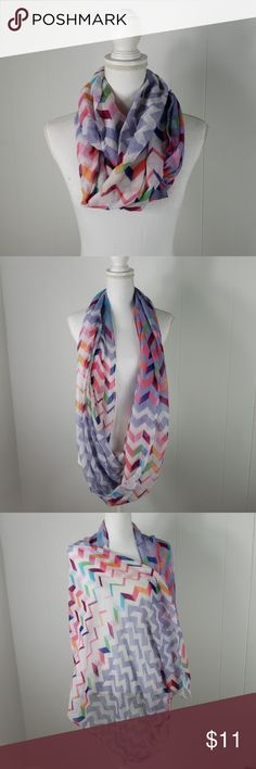 black New Infinity Loop Scarf Circle Wrap Soft Light Weight All Seasons,Coral