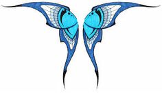 Image result for butterfly wings drawing