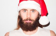 Jared Leto Christmas Photo Shoot by Terry Richardson