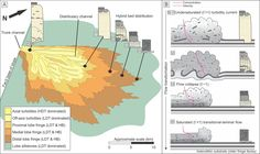 The stratigraphic record and processes of turbidity current transformation - turbidites.  Or if like me you went to Texas A&M and studied under R.R. Berg - Bergidites.