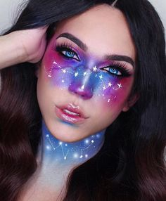Are you looking for ideas for your Halloween make-up? Browse around this site for creepy Halloween makeup looks. Eye Makeup Art, Diy Makeup, Makeup Ideas, Makeup Tutorials, Alien Makeup, Makeup Tips, Movie Makeup, Makeup Geek, Makeup Remover