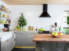 Cut cost, not corners to get the #kitchen of your dreams #hgtvmagazine // http://www.hgtv.com/design/rooms/kitchens/dream-kitchen-on-a-dime?soc=pinterest