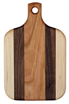 These cutting boards & trivets were crafted at Faith Mission Home's Cedar Springs Classroom and Woodshop. Faith Mission Home provides residential care and training for the intellectually disabled. Although the boys that assist in the crafting of our cutting boards don't operate any... see more details at https://bestselleroutlets.com/home-kitchen/kitchen-dining/cutlery-knife-accessories/cutting-boards/product-review-for-6-x-9-with-paddle-handle-handmade-wood-cut