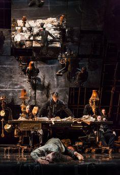 ames Thiérrée describes Tabac Rouge as a choreodrama; Stage Lighting Design, Stage Design, Set Design Theatre, Prop Design, James Thierrée, Conception Scénique, Alice In Wonderland Steampunk, Moby Dick, Artists