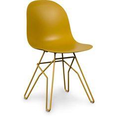 Sitz und Rücken: PolypropylenBeine: Metall Maße: 44.5 x 51 x 83 cm Sitzhöhe: 45 cm Gewicht: 12.3 kg