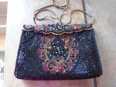 LARegale Formal Heavy Beaded Evening Purse by AardvarkCollectibles