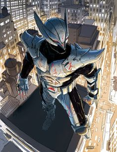 Jim Valentino's ShadowHawk, by Dustin Weaver