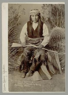 Kaytennae - Warms Springs Apache - 1884
