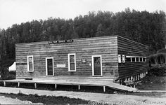 Saltair Dance Hall, Tillamook Beach, Rockaway Beach, Oregon, shortly before 1916.  Saltair is the old name for Tillamook Beach, in Rockaway.