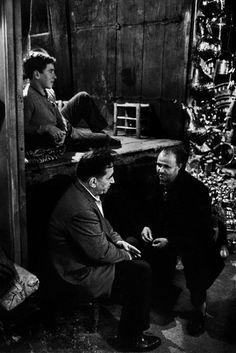 Ara Guler TURKEY. Shopkeepers and their helpers in Icbedesten in the Covered Bazaar. 1962.