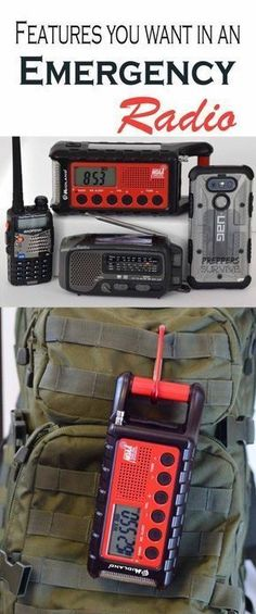 Emergency Preparedness Radio - About NOAA - Midland & Kaito Radio Review Survival Shelter, Wilderness Survival, Camping Survival, Outdoor Survival, Survival Prepping, Survival Gear, Survival Skills, Survival Equipment, Survival Quotes