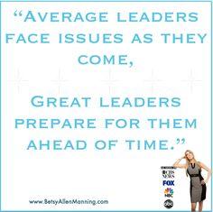 Average vs Great Leaders…  #StepUpStandOutandLead #GreatLeaders