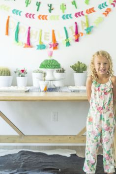 Cactus Themed Birthday Party via Kara's Party Ideas | The Place for ALL of Your Party Needs! KarasPartyIdeas.com (9)