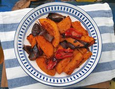 Harissa-roasted butternut squash - CookTogether