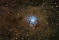 A Dusty Iris Nebula http: // apod.nasa.gov/apod/ap110804. html ...  # Astronomy  # space  # 宇宙