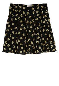FAVNA-CHASSIE - Mini skirt - black