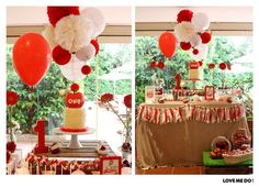 Cake at an apple baptism party! See more party ideas at CatchMyParty.com!