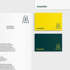 Assemblin by @esseninternational - See more on the site http://ift.tt/1OM78Ks - #logo #branding #brandidentity #logotype #graphicdesign #design #contemporary #typography #studio #print #monogram by thebrandidentity