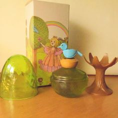 Vintage Avon Her Prettiness ENCHANTED TREE Cologne Mist Perfume Bottle with Original Box
