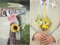 pin wheel wedding ideas